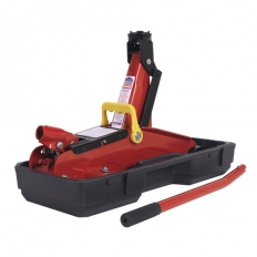 Sealey 1050CXD 2tonne Short Chassis Trolley Jack with Storage Case