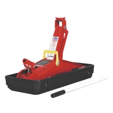 Sealey 1100CXD 2tonne Short Chassis Trolley Jack with Storage Case