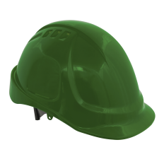 Sealey 502G Plus Safety Helmet - Vented (Green)