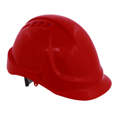 Sealey 502R Plus Safety Helmet - Vented (Red)