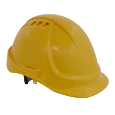 Sealey 502Y Plus Safety Helmet - Vented (Yellow)