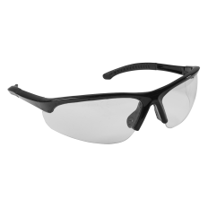 Sealey 9213 Zante Style Clear Safety Glasses with Adjustable Arms
