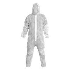 Sealey 9601XL Disposable Coverall White - X-Large
