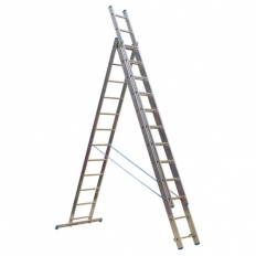 Sealey ACL312 Aluminium Extension Combination Ladder 3x12 EN 131