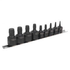 Sealey AK7222 Stud Extractor Set 9pc