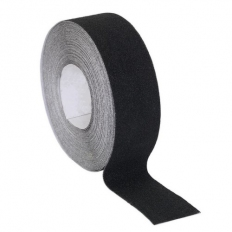 Sealey ANTB18 Anti-Slip Tape Self-Adhesive Black 50mm x 18 Metre