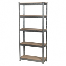 Sealey AP6150GS 5 Shelf Racking Unit - 150kg Capacity Per Level