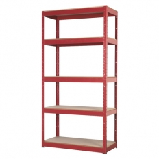 Sealey AP6350 5 Shelf Racking Unit - 350kg Capacity Per Level