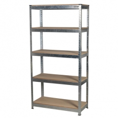 Sealey AP6350GS 5 Shelf Racking Unit - 350kg Capacity Per Level
