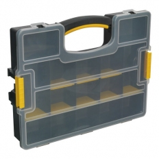 Sealey APAS15A Stackable Parts Storage Case with Removable Compartments