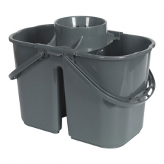 Sealey BM07 15ltr Mop Bucket - 2 Compartment