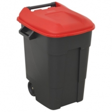 Sealey BM100R Refuse/Wheelie Bin 100ltr - Red
