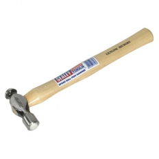 Sealey BPH08 8oz Ball Pein Hammer with Hickory Shaft