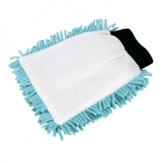Sealey CC77 2-in-1 Shaggy Microfibre Mitt