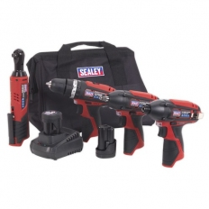 Sealey CP1200COMBO CP1200 4 Tool Combo Kit