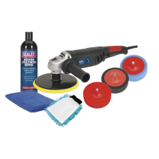Sealey CPK03 Ø180mm Pro Electric Polisher Kit 1100W/230V