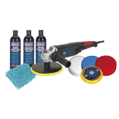 Sealey CPK05 Ø180mm Pro Polishing & Compounding Kit 1100W/230V