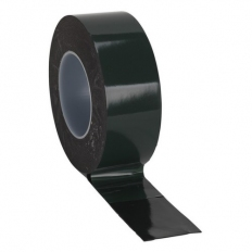 Sealey DSTG5010 Double-Sided Adhesive Foam Tape 50mm x 10 Metre Green Backing