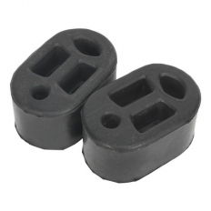 Sealey EX01 Exhaust Mounting Rubbers (Pack of 2)