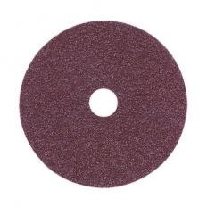 Sealey FBD10024 Sanding Disc Fibre Backed 100mm 24 Grit Pack of 25