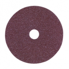 Sealey FBD10036 Sanding Disc Fibre Backed 100mm 36 Grit Pack of 25