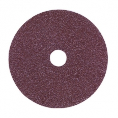 Sealey FBD10050 Sanding Disc Fibre Backed 100mm 50 Grit Pack of 25