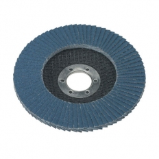 Sealey FD11540 Diameter 115mm Flap Disc Zirconium 22mm Bore 40Grit