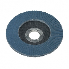 Sealey FD11560 Diameter 115mm Flap Disc Zirconium 22mm Bore 60Grit