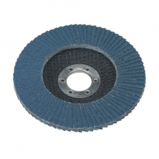 Sealey FD11580 Diameter 115mm Flap Disc Zirconium 22mm Bore 80Grit