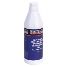 Sealey FSO1S 1ltr Compressor Oil Fully Synthetic