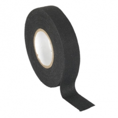 Sealey FT01 Fleece Tape 19mm x 15mtr Black