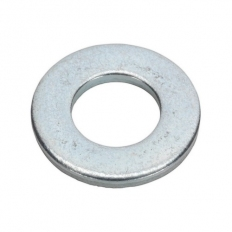 """Sealey FWI106 Flat Washer 3/16"""" x 7/16"""" Table 3 Imperial Zinc BS 3410 Pack of 100"""
