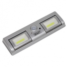 Sealey GL931 Auto Light 1.2W COB LED with PIR Sensor 3 x AA Cell