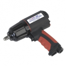 "Sealey GSA6000 3/8""Sq Drive Composite Air Impact Wrench - Twin Hammer"