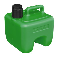 Sealey JC3G Stackable Fuel Can 3L - Green