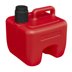Sealey JC3R Stackable Fuel Can 3L - Red