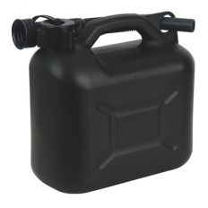 Sealey JC5B 5ltr Fuel Can - Black