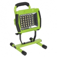 Sealey LED109C 30 SMD LED Cordless Lithium-ion Rechargeable Portable Floodlight