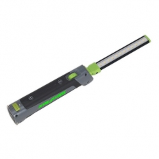Sealey LED180 Rechargeable Slim Folding Inspection Lamp 12 + 1 SMD LED Lithium-ion