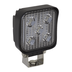 Sealey LED2S Mini Square Work Light with Mounting Bracket 15W LED
