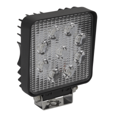 Sealey LED3S Square Work Light with Mounting Bracket 27W LED