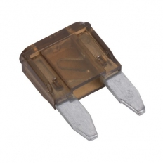 Sealey MBF7550 Automotive MINI Blade Fuse 7.5A Pack of 50