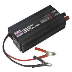 Sealey PI500 500W Power Inverter 12V DC - 230V 50Hz