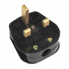 Sealey PL13/320S 13Amp Heavy-Duty Resilient Plug