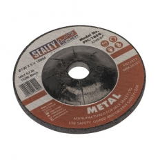 Sealey PTC/100G Diameter 100 x 6mm Grinding Disc 16mm Bore
