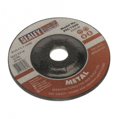 Sealey PTC/125G Diameter 125 x 6mm Grinding Disc 22mm Bore