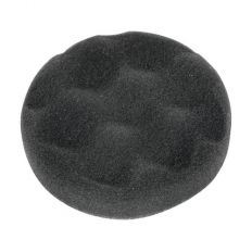 Sealey PTCCHV79P Diameter 80 x 25mm Hook & Loop Buffing & Polishing Foam Head Black/Soft