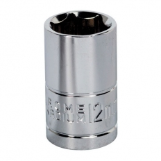 "Sealey Siegen S0579 12mm 3/8""Sq Drive WallDrive Socket"