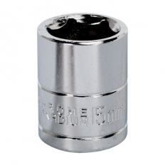 "Sealey Siegen S0582 15mm 3/8""Sq Drive WallDrive Socket"