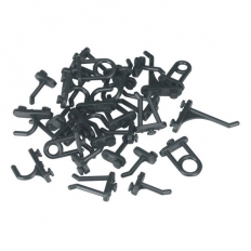Sealey Siegen S0766 30pc Hook Assortment for Composite Pegboard
